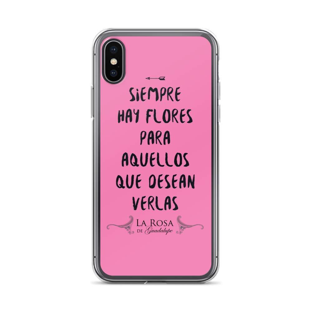Amazon.com: La Rosa de Guadalupe Flores iPhone Case: Clothing