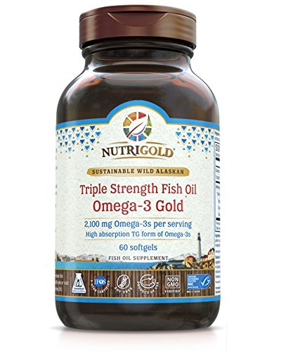 NutriGold Strength Omega 3s Bioavailable Triglyceride product image