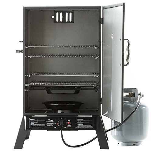 Masterbuilt Gs40 20050211 Black Propane Smoker 40 Inch