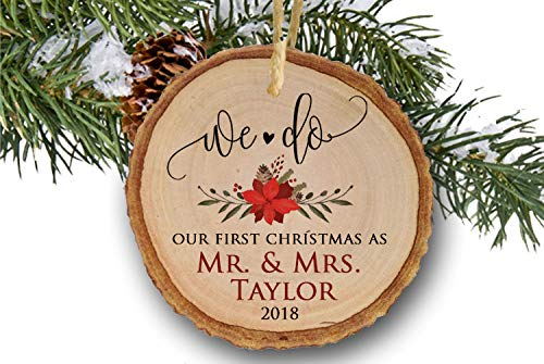 Marriage Christmas Ornament 2018, Our First Christmas as Mr & Mrs, Married  Man & - Amazon.com: Marriage Christmas Ornament 2018, Our First Christmas As