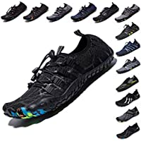 LINGTOM Barefoot Quick-Dry Mens Womens Water Shoes for Beach Swimming Diving Surf Yoga Hiking Sport Exercise (Multiple Color)