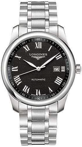 Longines Master Collection - Reloj automático (40 mm), Color Negro: Amazon.es: Relojes