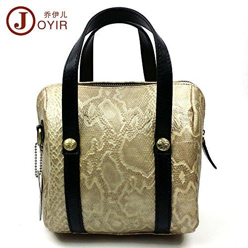 LongBao la nueva bolsa de dama de cuero _ elegante cuero dama bolsa de hombro manual femenino es una marea gentlewoman ,8219 Golden 8219 Golden