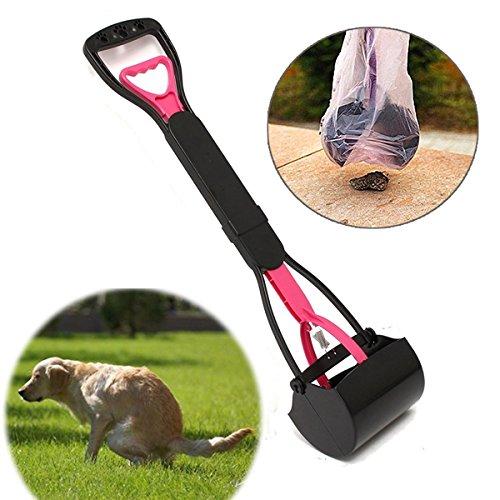 Powerglide Stainless Steel (MyZenStore - Pet Dog Waste Easy Pickup Pooper Scooper Walking Poo Poop Scoop Grabber Picker)