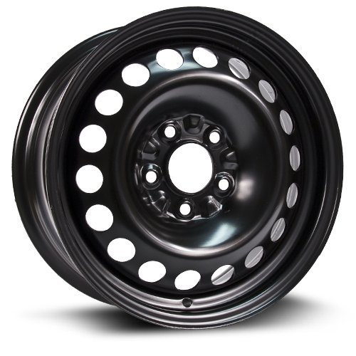 Aftermarket Steel Rim 15X6.5, 5X110, 65.1, +40, black for sale  Delivered anywhere in USA
