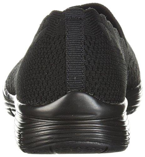Zapatillas Mujer Para stat 36 Eu Negro Cordones Skechers 5 Sin Seager Ex1qHYf6wT