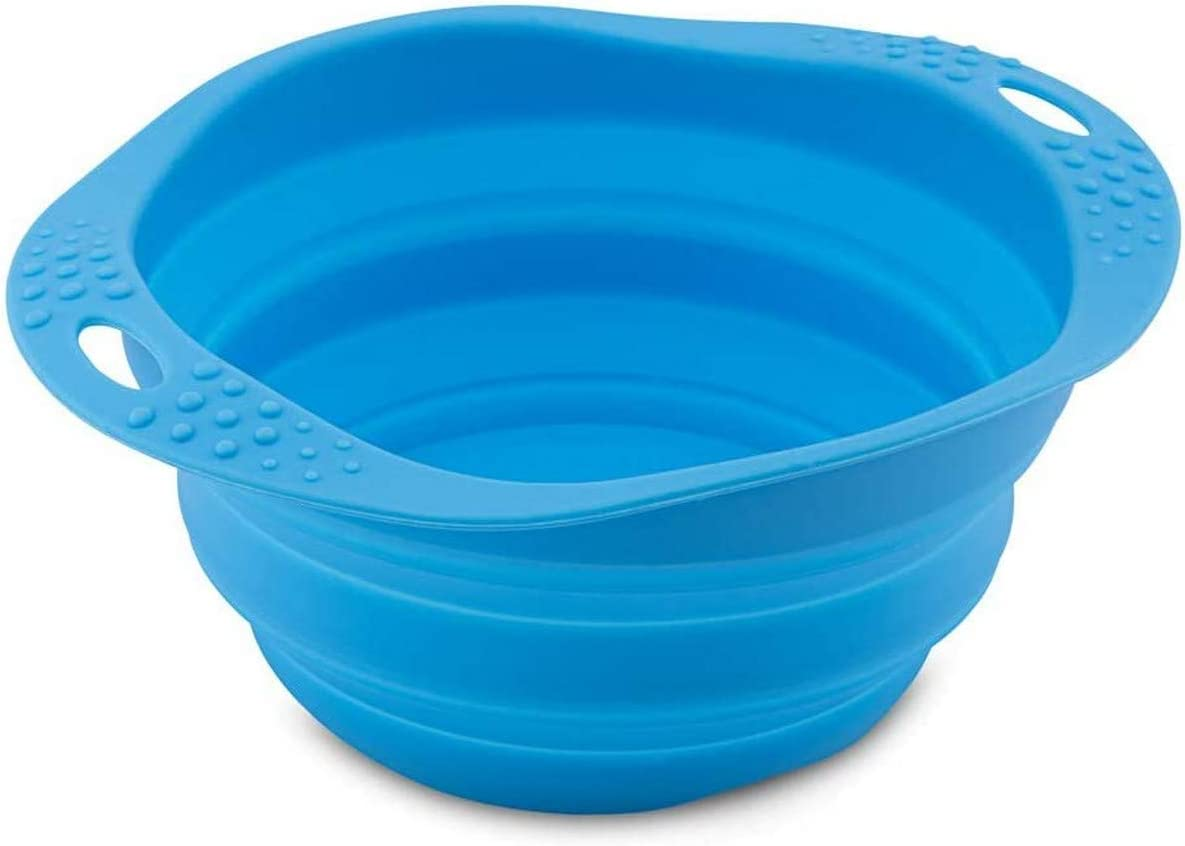 Beco Travel Bowl, Collapsible Silicone Food And Water Bowl
