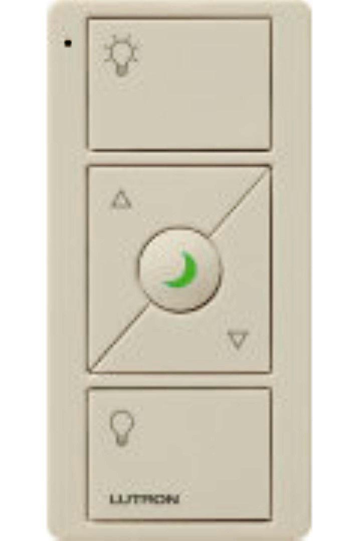 Lutron pjn-3brl-gla-l01リモートコントロール、Pico 5ボタンディマースイッチW / nightligh   B00N4075O2