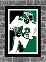 Philadelphia Eagles Randall Cunningham Portrait Sports Print Art 11x17