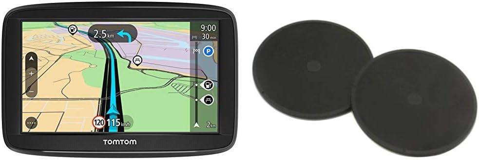 TomTom Start 52 - Navegador para Coche, 5 Pulgadas, mapas de la UE para Toda la Vida y Pantalla resistiva + Discos Adhesivos: Amazon.es: Electrónica