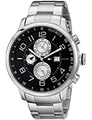 Tommy Hilfiger Mens 1790860 Stainless Steel Watch with Link Bracelet