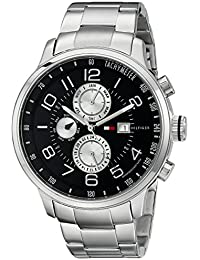 Mens 1790860 Stainless Steel Watch with Link Bracelet