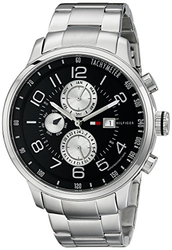 Multifunction Tommy Watch Hilfiger - Tommy Hilfiger Men's 1790860 Stainless Steel Watch with Link Bracelet