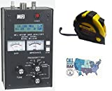 Bundle - 3 Items - Includes MFJ 259C HF/VHF Antenna/SWR/RF Analyzer with Meters with the New Radiowavz Antenna Tape (2m - 30m) and HAM Guides Quick Reference Card