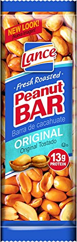 Lance, Peanut Bars, 6 - 2.2oz Packages, 13.2oz Total Per Tray (Pack of 12) by Lance (Image #1)