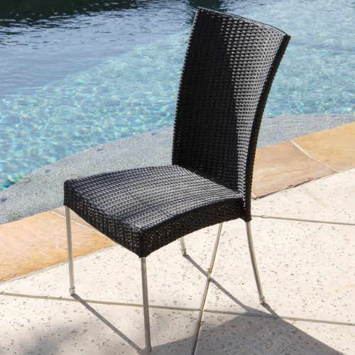 tampa patio furniture 9 piece outdoor wicker dining set