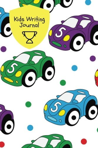 Kids Writing Journal Cars Design Children S Lined Journal With