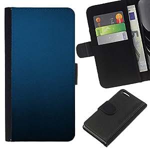 Apple iPhone 5C Modelo colorido cuero carpeta tirón caso cubierta piel Holster Funda protección - Uniform Minimalist Black Pastel
