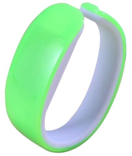 Chic con circuito NEW LED * forma delfín pantalones de deporte para mujer reloj de pulsera de silicona verde: Amazon.es: Relojes
