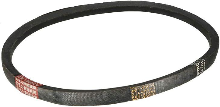 uxcell M-38 V-Belt Machine Transmission Drive V Belt 38 Inches Rubber Replacement Black