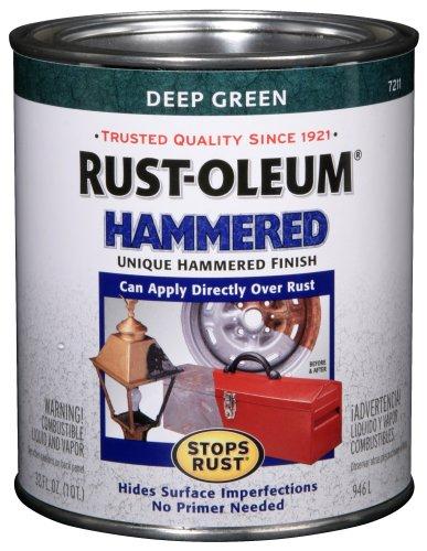 Rust Oleum 7211502 Hammered Finish 1 Quart