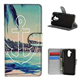 """Acer Liquid Z410 , ivencase Beautiful Cool Attractive Wallet Magnetic Style PU Leather Flip Stand Soft Case Cover Fit Suitable for Acer Liquid Z410 + One """"ivencase """" Anti-dust Plug Stopper"""