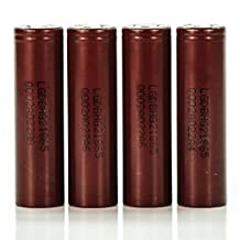 4x LG HG2 IMR 18650 3000mah 20A authentic original rechargeable flat top battery batteries LGDBHG21865 Next Day Shipment