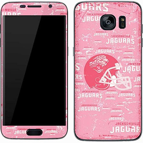 Skinit Jacksonville Jaguars - Blast Pink Galaxy S7 Skin - Officially Licensed NFL Phone Decal - Ultra Thin, Lightweight Vinyl Decal Protection