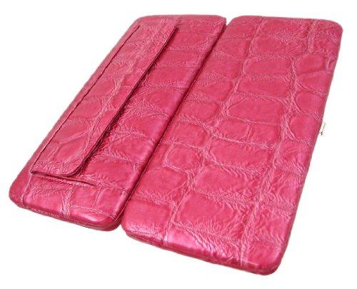 Zeckos - Cartera de mano con asa de Nylon para mujer rosa