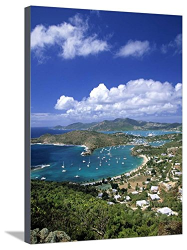 Nelson's Dockyard, Antigua, Caribbean by Walter Bibikow, Stretched Canvas Print, 24x32 in
