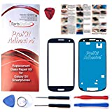 ProKit for Samsung Galaxy S3 Pebble Blue Replacement Screen Glass Lens Kit S3