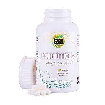 Probióticos de L. Acidophilus y L. Paracasei para problemas de estreñimiento, colon irritable