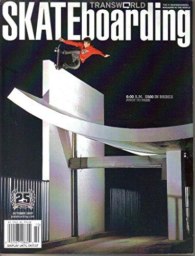 Transworld Skateboarding Magazine, October 2007 (Vol. 25, No. ()