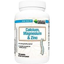 Nature's Wonder Calcium Magnesium and Zinc Supplement, 150 Count