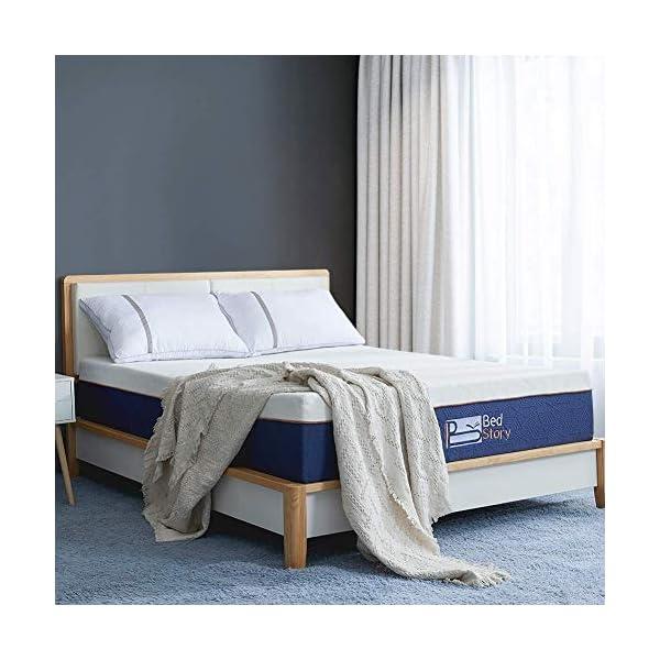 BedStory Materasso in Schiuma viscoelastica, Materasso Memory Foam, con Essenza di Lavanda   22 cm di Spessore… 1 spesavip