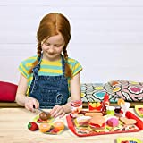 FUN LITTLE TOYS 40 PCs Play Food for Kids