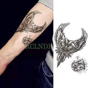 Handaxian 3pcs Etiqueta engomada del Tatuaje Impermeable ...