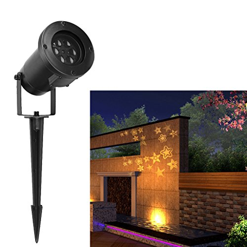 Excelvan-LED-Landscape-Projector-Light-Decoration-Light-with-WhiteWarm-White-Stereo-Star-Moves-Automatically-for-IndoorOutdoor-Garden-Wall-Party-Mothers-Day