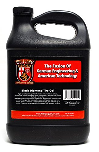 Wolfgang Black Diamond Tire Gel 128 oz. (Wolfgang Black Tire)