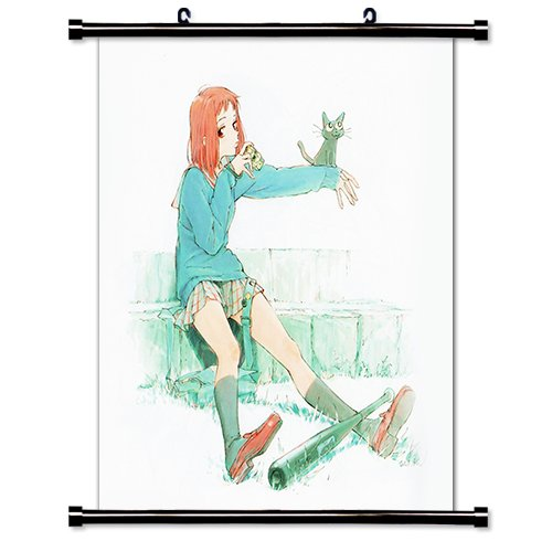 FLCL Anime Fabric Wall Scroll Poster  Inches.-FLCL-24