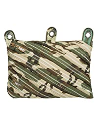 ZIPIT Camo 3-Ring Pencil Case, Green Camouflage