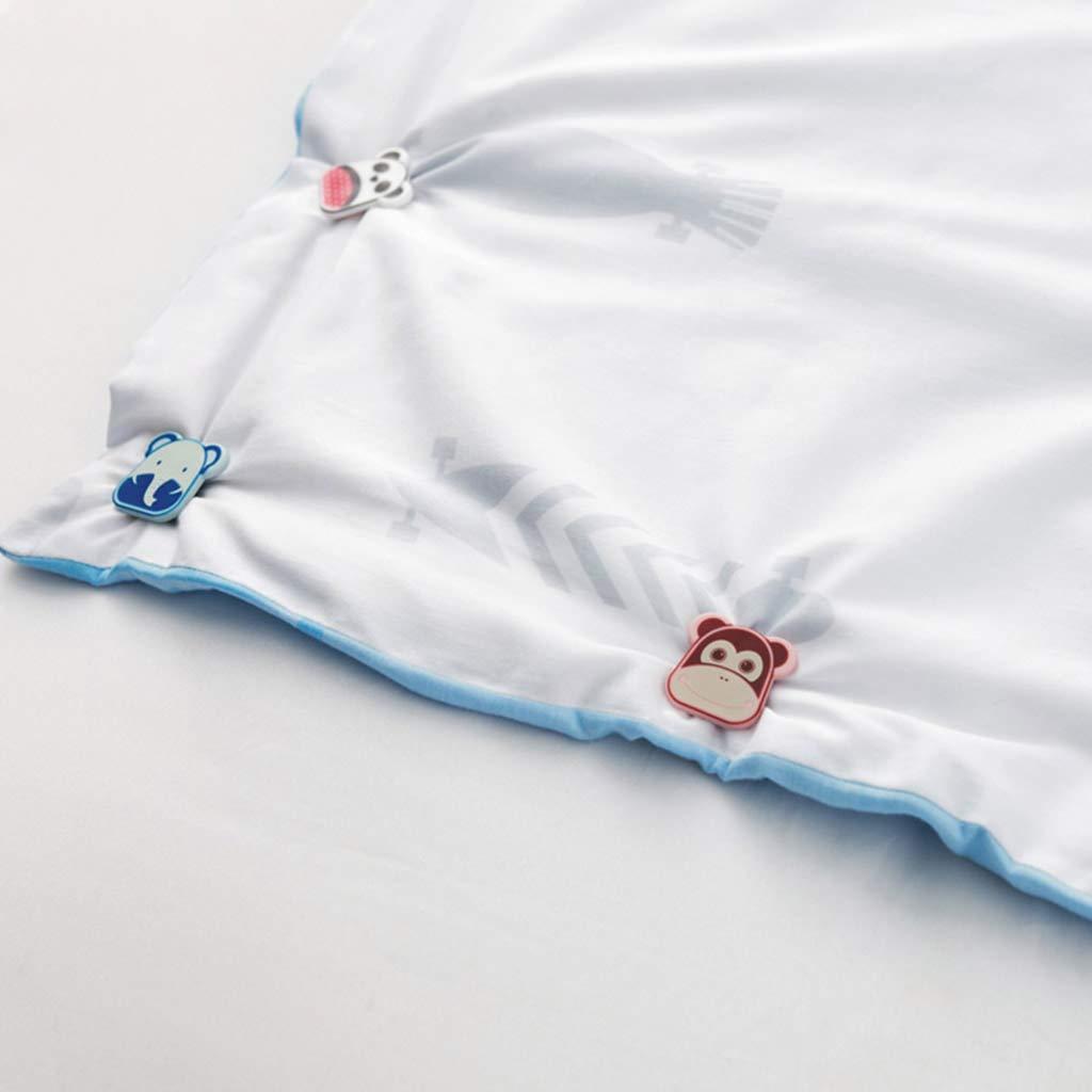 Heimgebrauch Bettdeckenhalter Klemmverschluss f/ür Kinder Clip Milue Bettw/äsche-Set Cartoon-Bettw/äsche