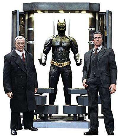 Batman The Dark Knight Movie Masterpiece Batman Armory With