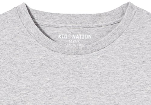 Kid-Nation-Kids-3-Pack-Short-Sleeve-Crew-Neck-Cotton-Jersey-Tee-for-Boys-or-Girls