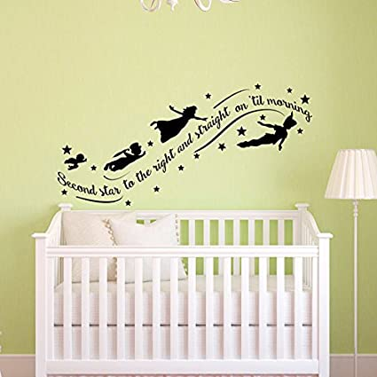 sold by a good decals usa peter pan wall decal quote wall decals nursery