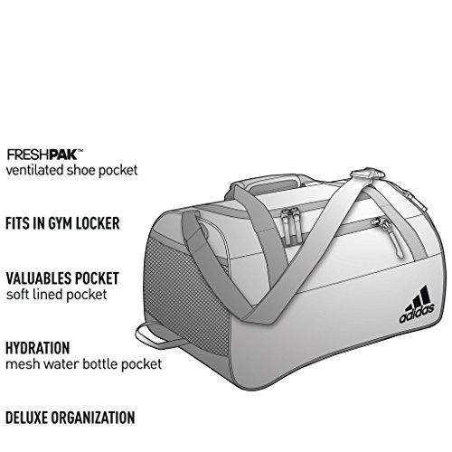Aero Pink Grey Bag adidas Squad III Duffel qUxAfRw