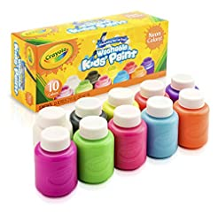 Crayola; Washable Kids' Paint; Art Tools...