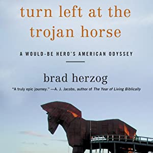 Turn Left at the Trojan Horse Audiobook
