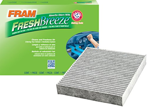 FRAM CF10377 Fresh Breeze Cabin Air Filter with Arm & Hammer