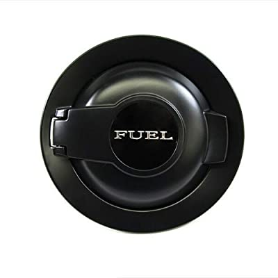 68250120AA Fit for Dodge Challenger Fuel Door Cover 2008-2020 Matte Black: Automotive